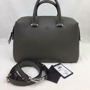 MCM Medium Ella Boston Bowler Bag